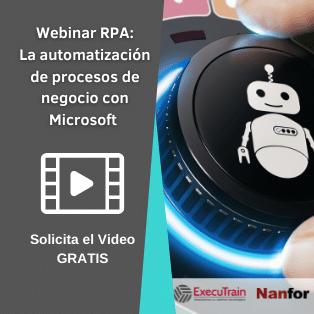 Webinar RPA la automatizacion de procesos de negocio con Microsoft