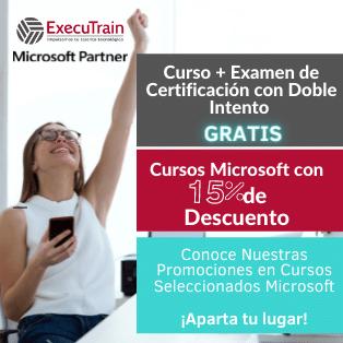 cursos microsoft con 15% de descuento con ExecuTrain