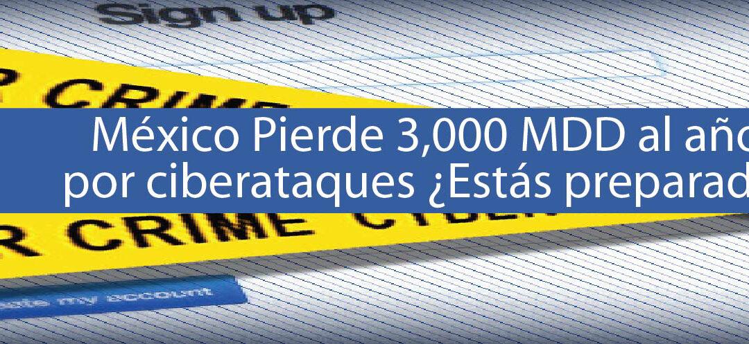 México Pierde 3,000 MDD al año por ciberataques ¿Estás preparado?