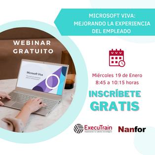 Webinar Microsoft Viva: Mejorando la experiencia del empleado